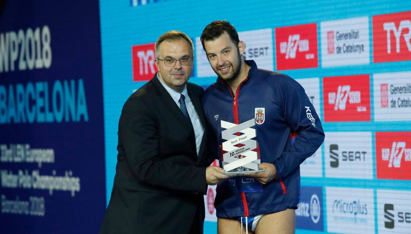Filip Filipović MVP Evropskog prvenstva