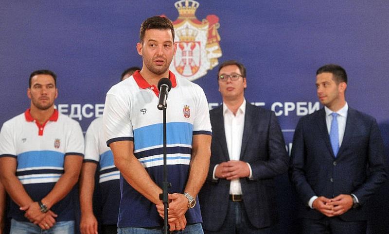 Filip Filipović kod predsednika