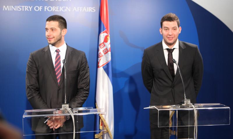 Vanja Udovičić i Filip Filipović