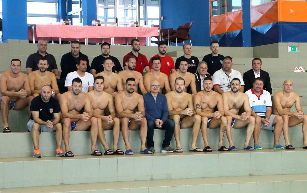 Pripreme vaterpolo reprezentacije Srbije u Novom Sadu 2020.