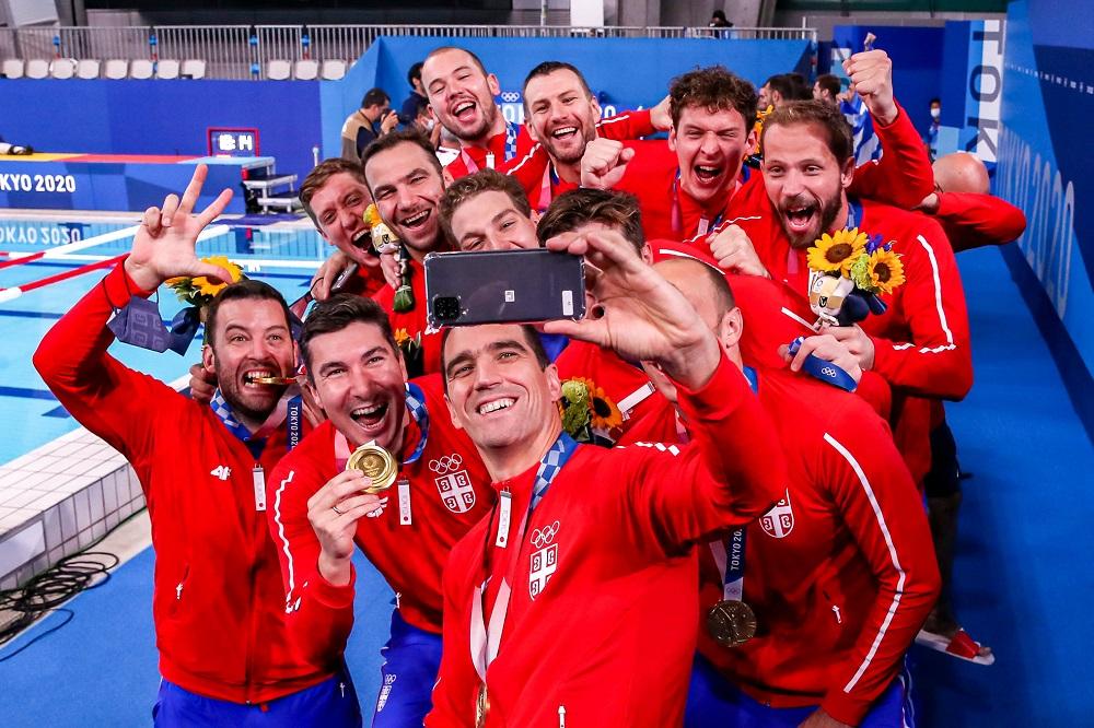 Srbija zlato OI slavlje